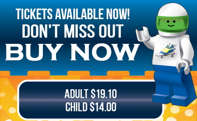 Buy tickets for the Sydney Brick Show 2018 here